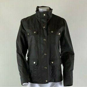 J Crew Sz M The Downtown Field Jacket In Brown